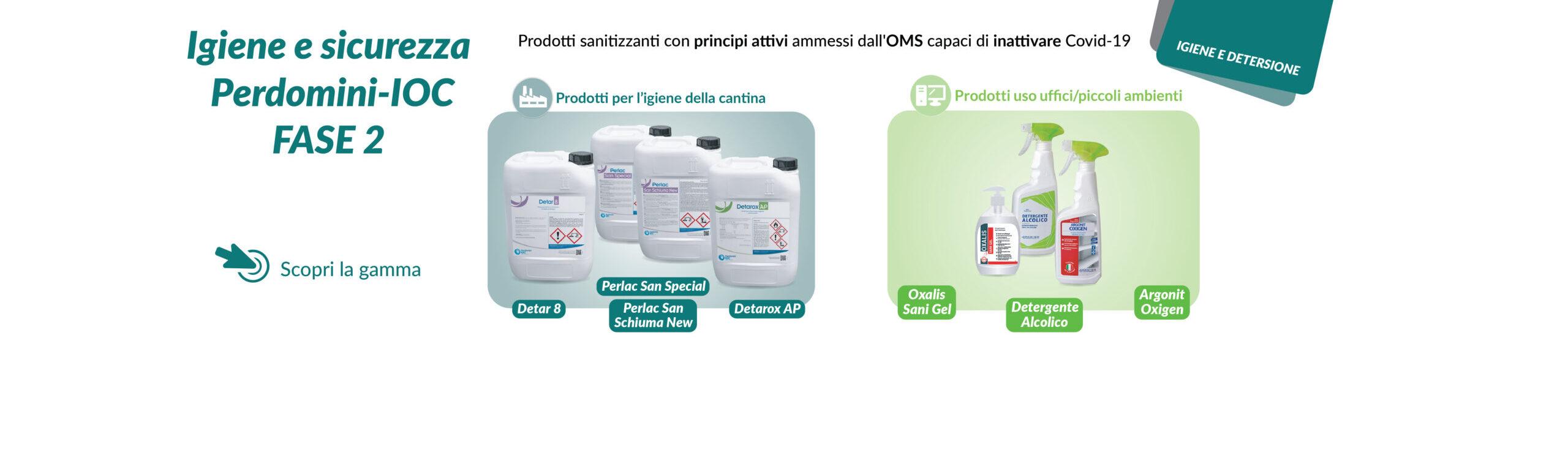 Prodotti sanitizzanti