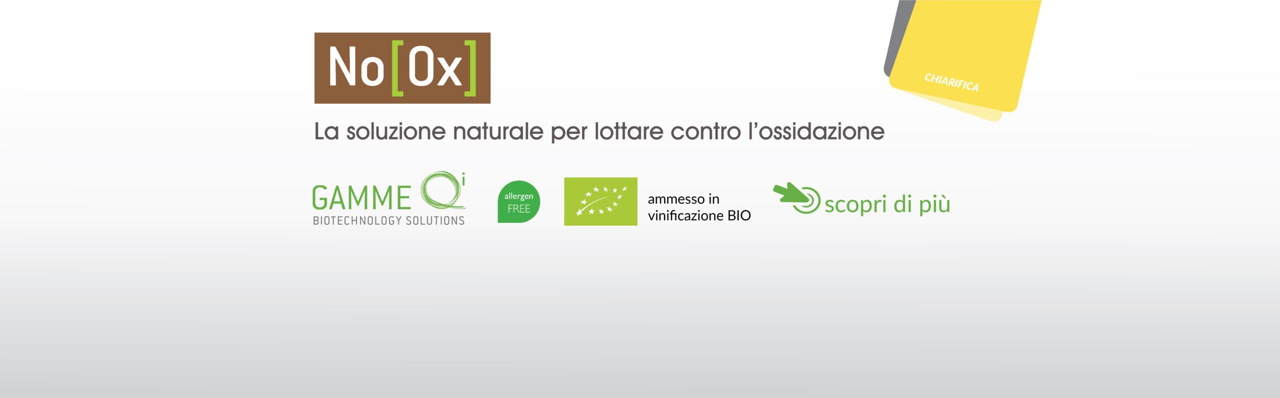 NoOx – La soluzione naturale contro l'ossidazione