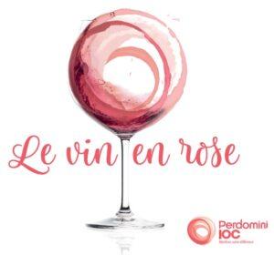 Le vin en rose