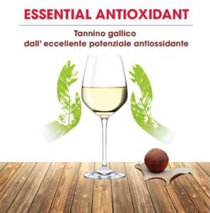 Essential Antioxidant, tannino gallico