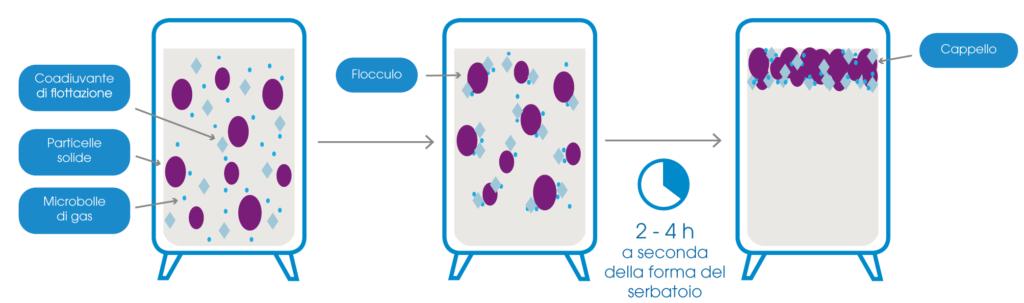 enologia flottazione vino flocculazione processo